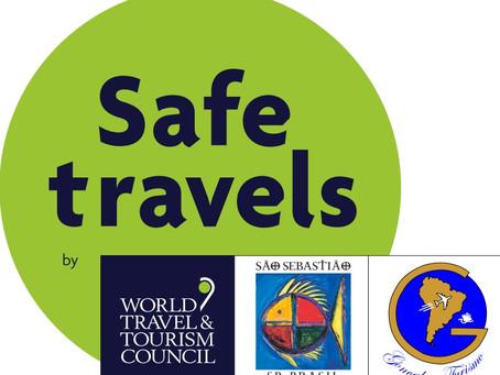 SELO INTERNACIONAL SAFE TRAVELS