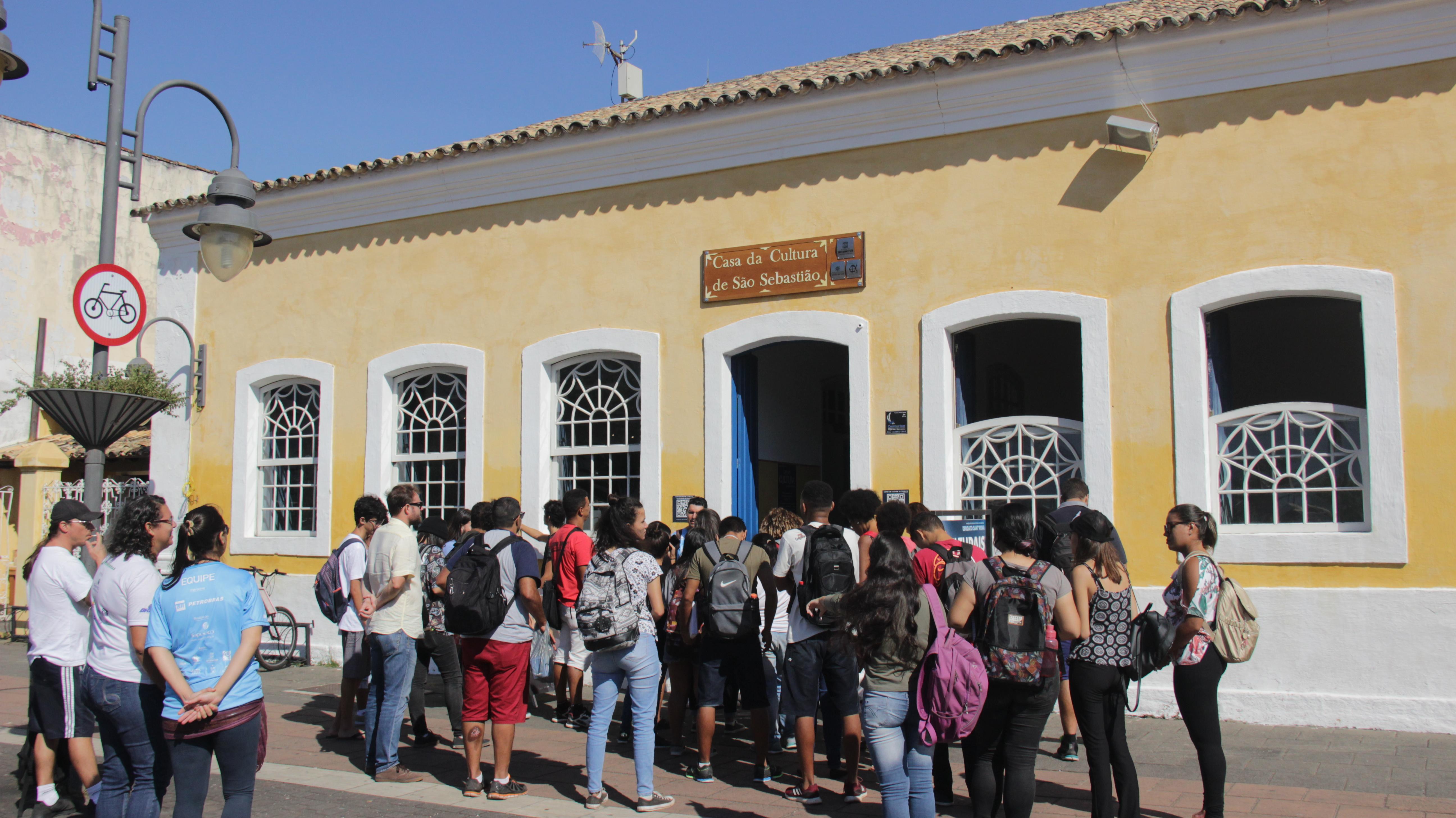 Primeira escola Pública de São Sebastião