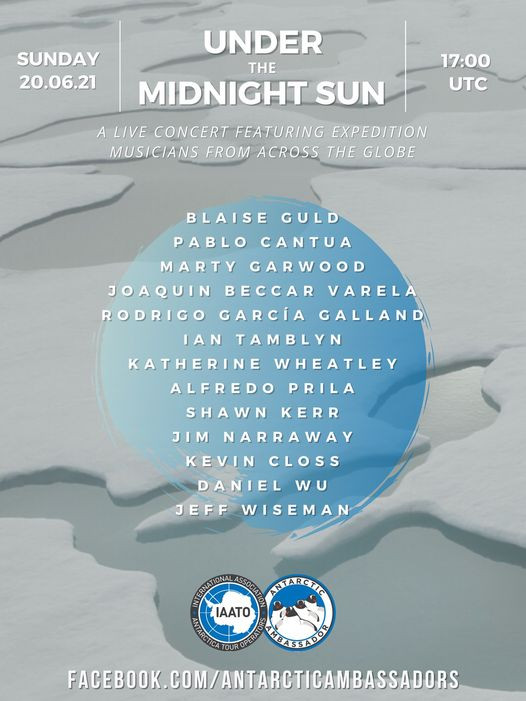 Under the Midnight Sun - Sunday June 20 at 5pm