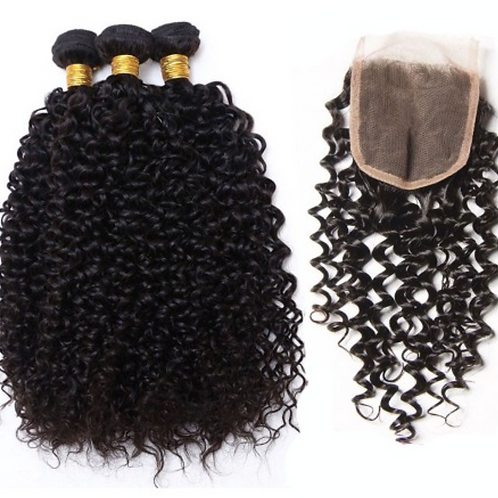 Brazilian Kinky Curly Bundle Deal- Starting at