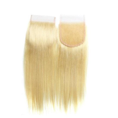 Blonde 4 X 4 closure