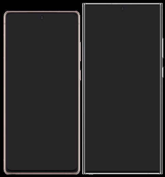 Comparativa de tamaños del Samsung Note