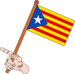 Bandera separatista catalana