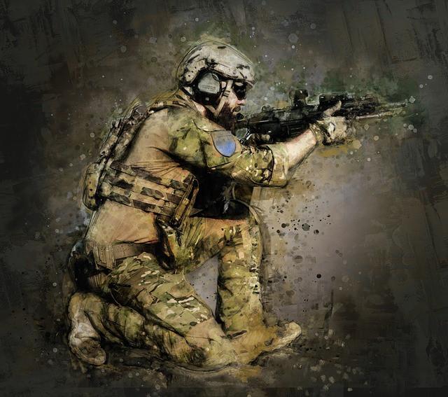 Soldado alerta