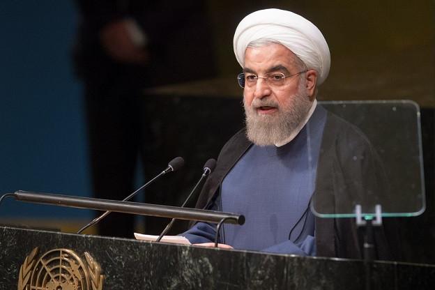 Rouhaní, presidente de Irán, en la ONU