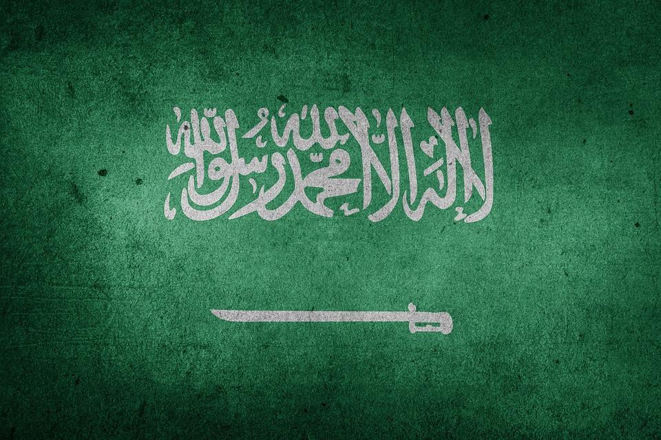 Bandera del Reino de Arabia Saudí