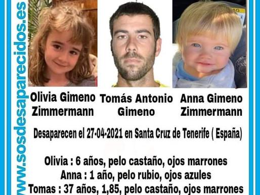 El caso de las niñas Anna y Alicia de Tenerife