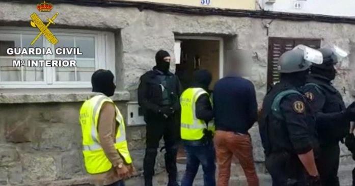 Furgón de presos de la Guardia Civil