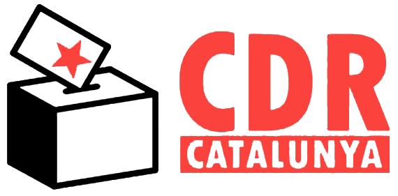 Símbolo de los CDR con urna al lado