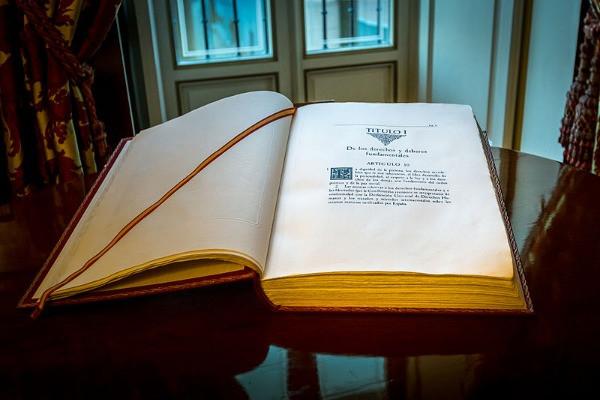 Libro de la constitución española