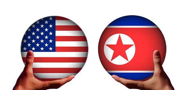 Imagen de Trump y Kim Jong-un