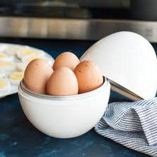 מתקן להכנת 4 ביצים קשות במיקרוגל