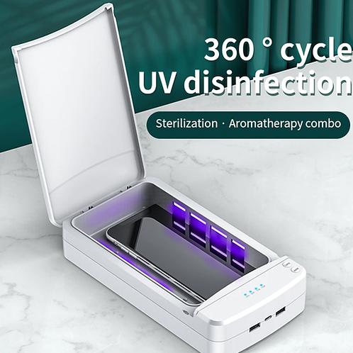 מכשיר חיטוי סטריליזטור נייד להשמדת נגיפים וחיידקים ULTRA BOX
