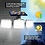 Thumbnail: תאורת לד סולארי 171 לדים + חיישן תנועה