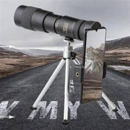 משקפת טלסקופית , 10-300x40mm כולל מתאם לסמארטפון