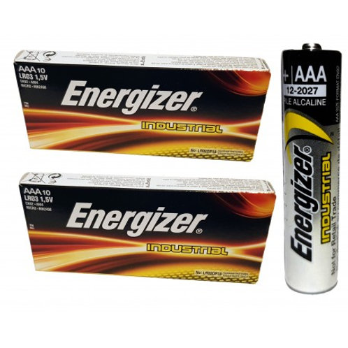 חבילה של עשר יחידות בטרייה Energizer