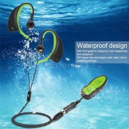 נגן MP3 ורדיו עמיד במים ומתאים לשחייה ולפעילות ספורטיבית, עם זיכרון 4GB וסוללה נ