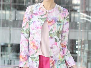 Kvetinový outfit na májové dni