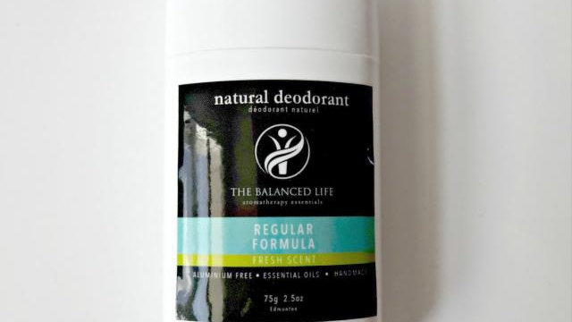 The Balanced Life Co Natural Deodorant
