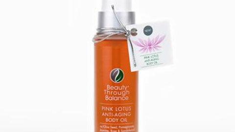 BTB Pink Lotus Anti-Aging Body Oil