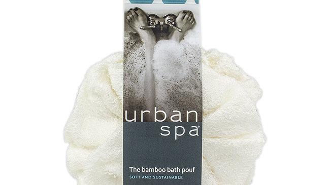 Bamboo Bath Pouf