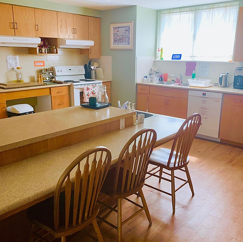 A photo of Optimism Place's kitchen