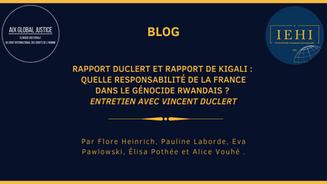 Quelle responsabilité de la France dans le génocide rwandais ? Entretien avec Vincent Duclert