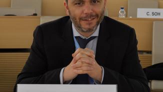 Election du Prof. Ludovic Hennebel au Comité DESC des Nations Unies