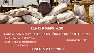 Conférences Croix-Rouge
