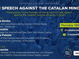 Webinaire - Les discours de haine contre la minorité Catalane