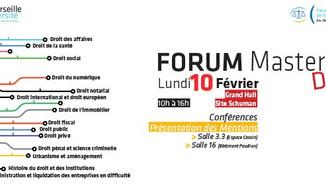 Forum des Masters - Droit