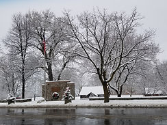 Winter in Geneseo Village