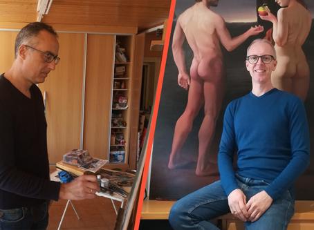 Anunciem els pintors crevillentins que realitzaran el cartell del Certamen de Curts de Crevillent