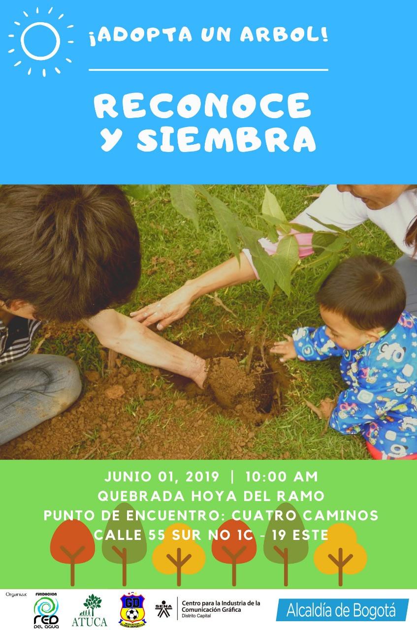 Junto a la Red del Agua, estaremos sembrando y resignificando una Quebrada en la periferia del sur de Bogotá, Colombia. Haz click en la imagen y te contaremos más del evento.