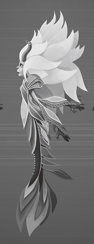 Mermaid Concept Turnaround