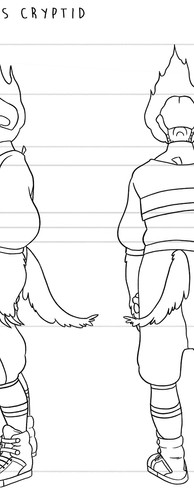 Character Turnaround - Comic