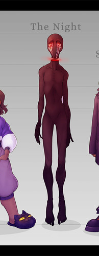 Character Lineup - Horror Game