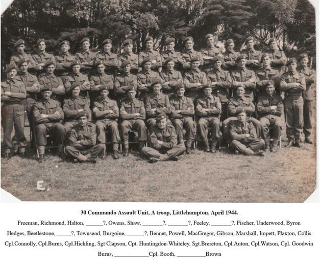 RM A-Troop 33 Section.