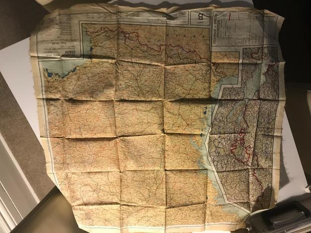 Silk escape maps