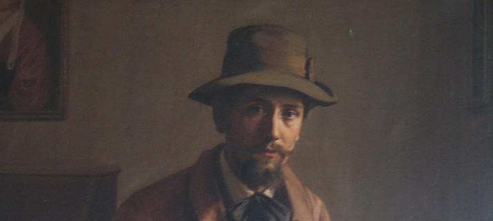 Alphonse Le Luexhe - SelfPortrait.