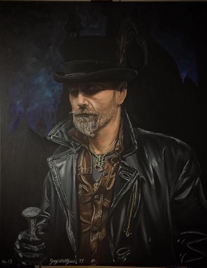 🔴 SOLD • 'Hardy' Self-Portrait. No.13