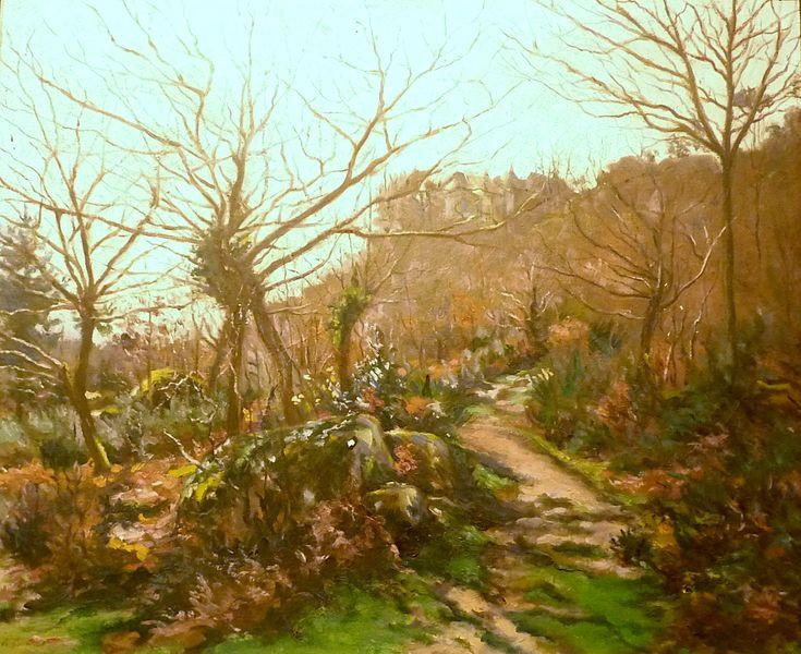 Le chemin de Sainte-Barbe