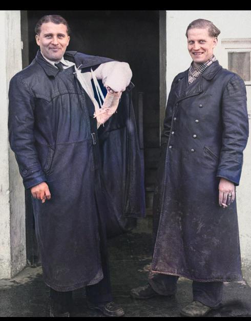 Wernher & Magnus von Braun.