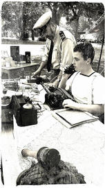 Naval Lieutenant and Rating