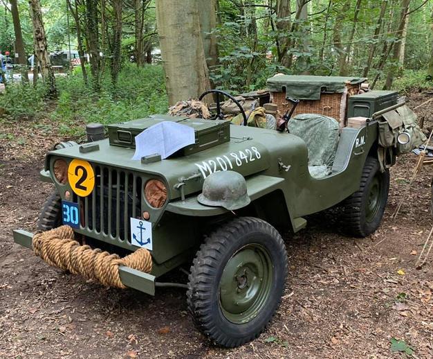 Belgium Branch Jeep