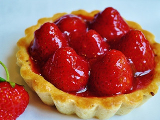 Strawberries: Strawberry Tart