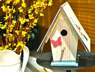 Teacher's Gift: A Book Birdhouse