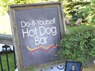 Graduation Party: Do-it-Yourself Hotdog Bar