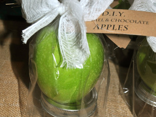 """Fall Gifting (""""I Care"""" package):               D.I.Y Caramel Apple"""