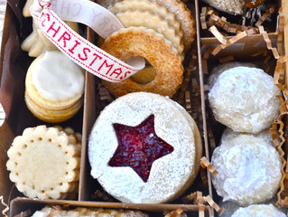 Christmas Cookies as Gifts